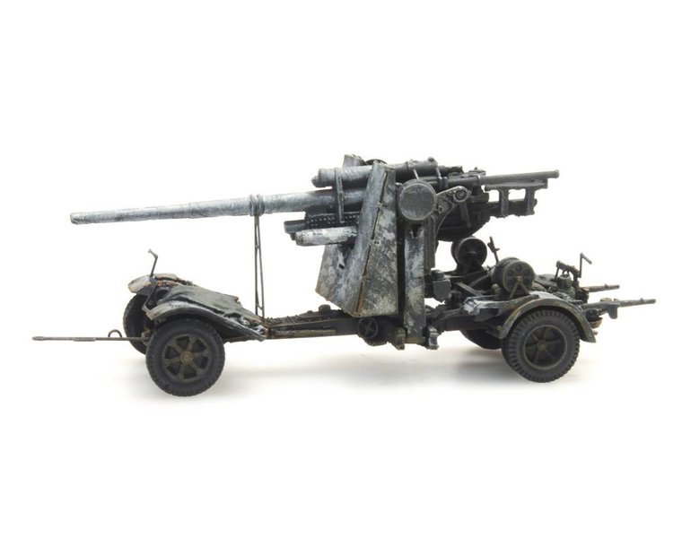 88mm Flak 18, Winter