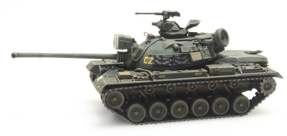 M48 A2 Combat Ready US Army Vietnam War