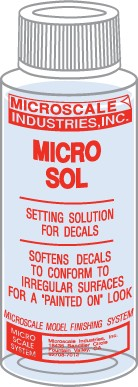 Microscale Micro Sol - 1 oz. bottle