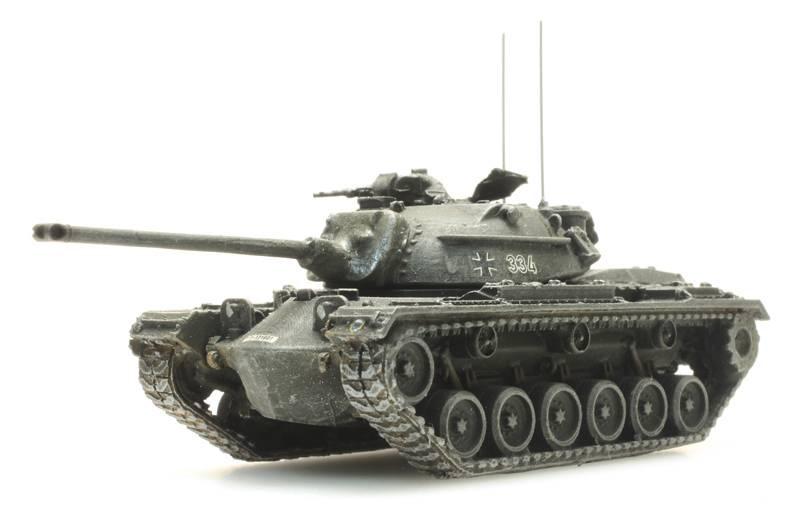 Bundeswehr M48 A2 gelboliv