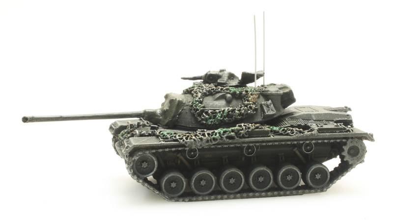 Bundeswehr M48 A2 gelboliv gefechtsklar