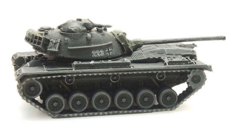 Bundeswehr M48 A2 gelboliv Eisenbahntransport