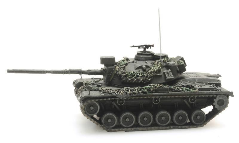 M48A2GA2 Gefechtsklar Gelboliv Bundeswehr