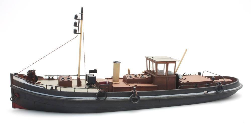 Kanaalsleepboot - resin bouwpakket - 1:87