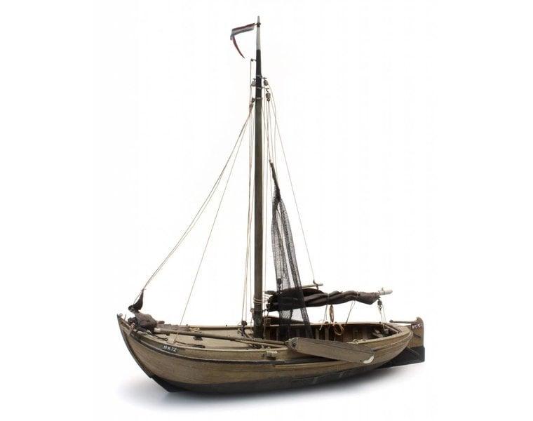 Traditional Zuiderzee fishing boat
