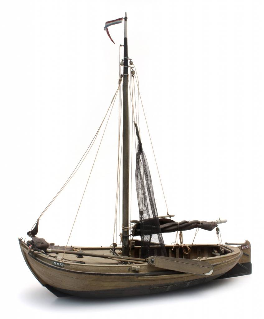 Traditional Zuiderzee fishing boat - resin kit - 1:87