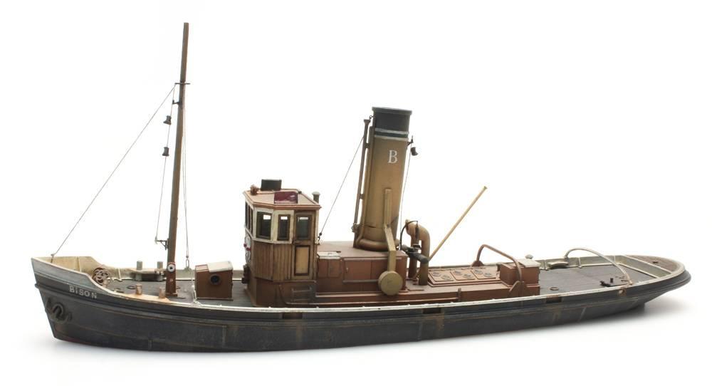 Harbor tug, 1:87 resin kit, unpainted
