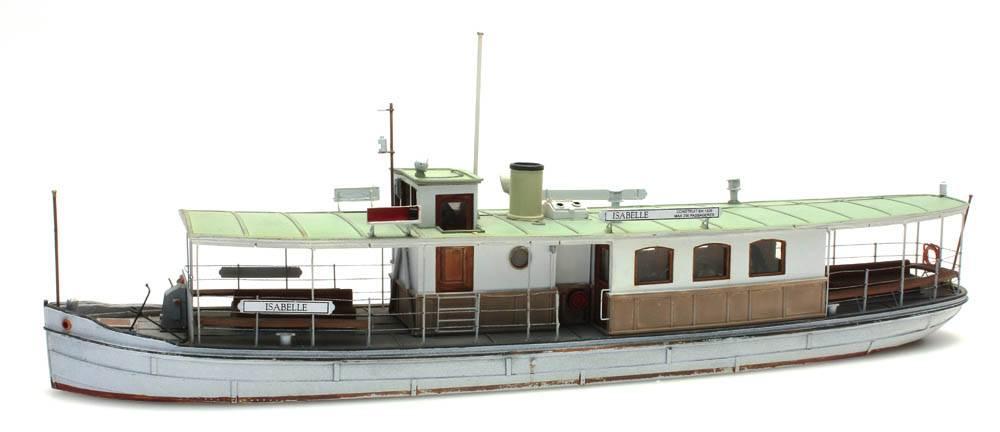Passagierschip, 1:87 bouwpakket uit resin, ongeverfd