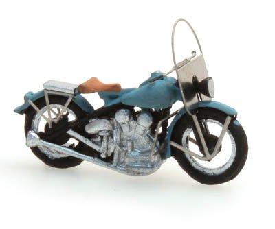 US motorcycle Liberator civiel blauw