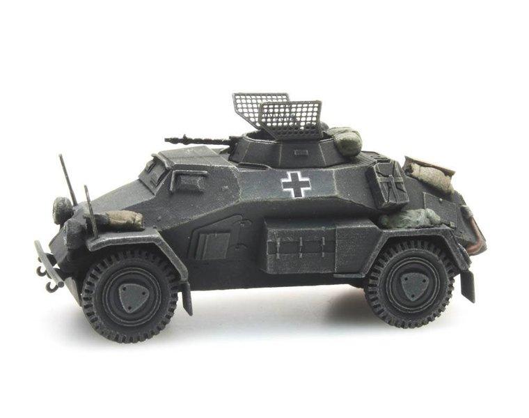 Sd.Kfz 221 4 Rad MG 34 grau