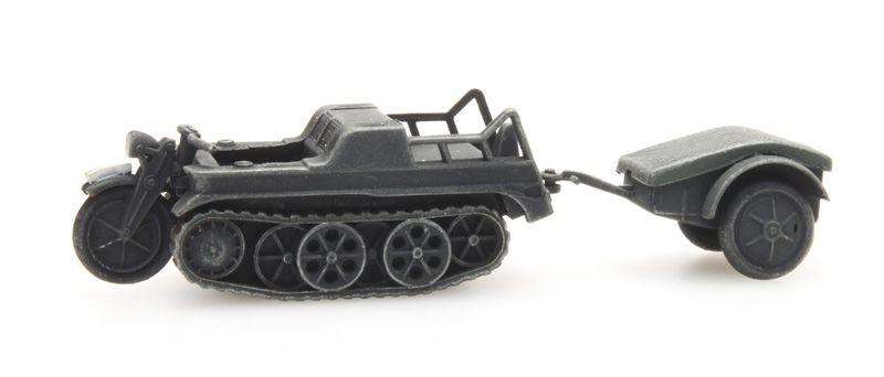 SdKfz 2 Kettenkrad gray