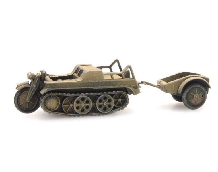 SdKfz 2 Kettenkrad gelb