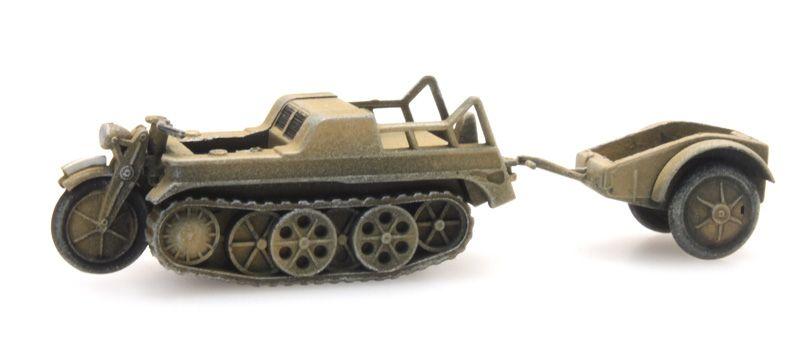 SdKfz 2 Kettenkrad geel