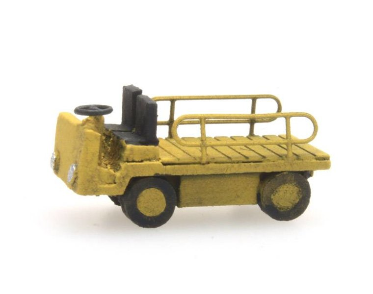 Platform truck yellow
