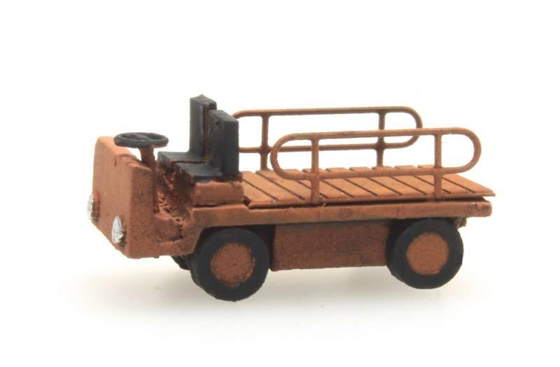 Platform truck red