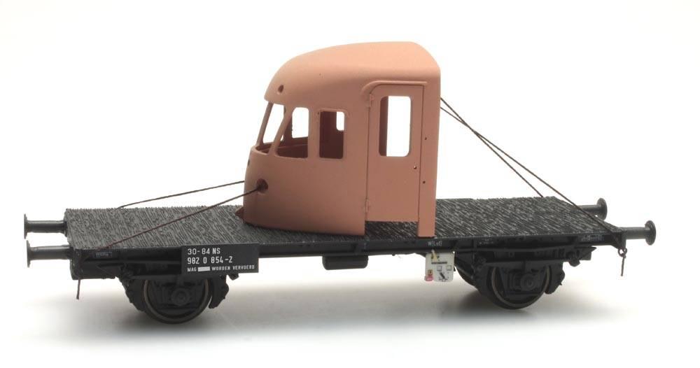 NS Arbeitswagen mit DE-2