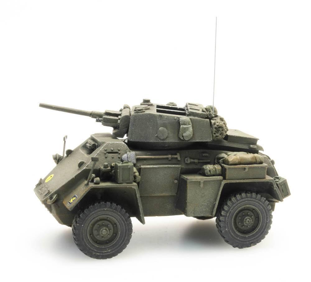 Humber armoured car Mk IV, 37 mm gun, UK, 1:87 resin ready made, painted