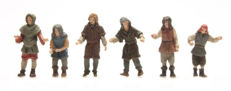 6 Scheepslieden 15e eeuw
