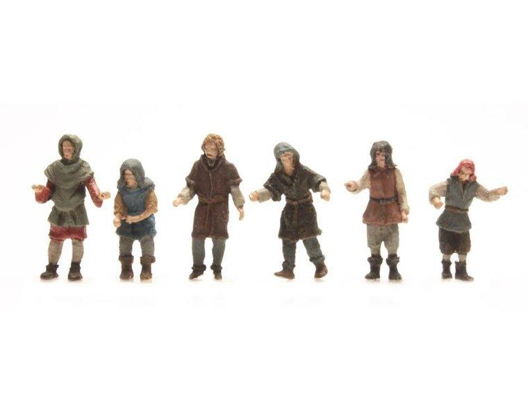 6 Ship executives 15th century