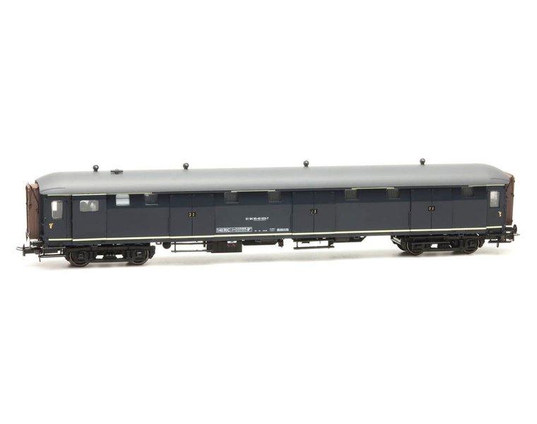 Stalen D 6-Türen Gepäckwagen 51 84 95-40 023-7, blau