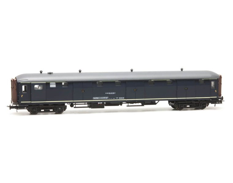 Stalen D 6-doors baggage car 51 84 95-40 025-2, blue