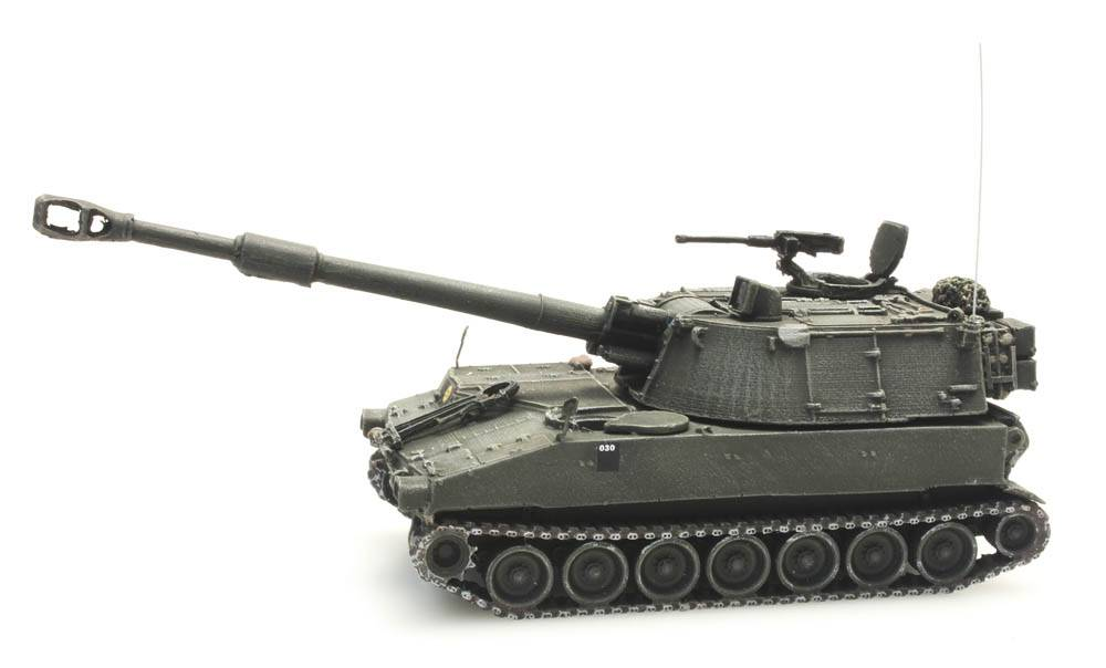 M109 A2, Belgian Armed Forces
