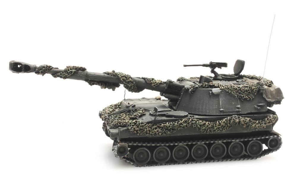 M109 A2 gevechtsklaar, Belgische Defensie