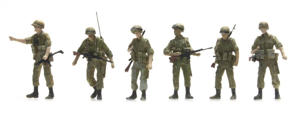 IDF infantry patrol 6 figures