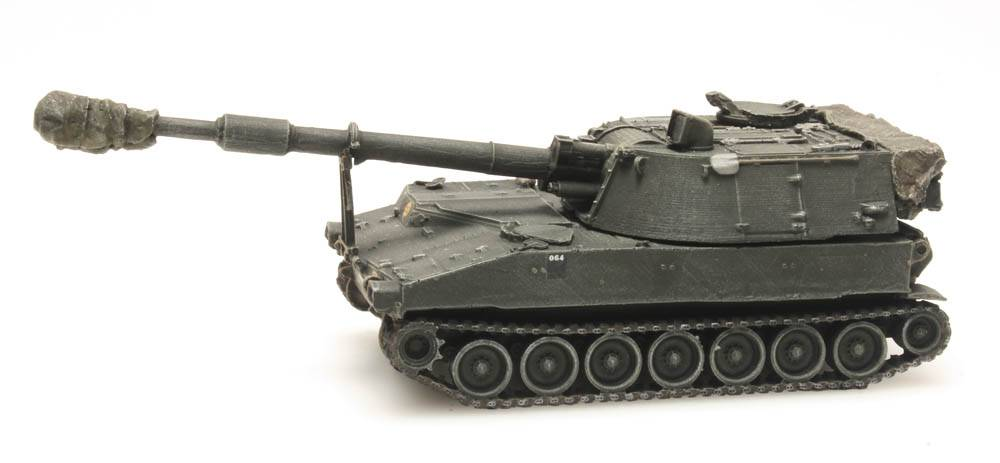 M109 A2 treinlading, Belgisch leger