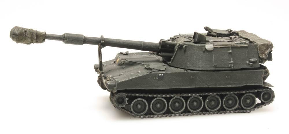 M109 A2 treinlading, Belgische Streitkräfte