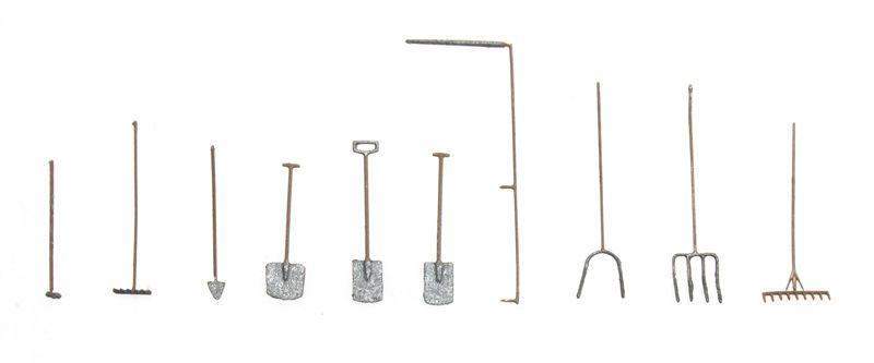Tool set: garden and farm