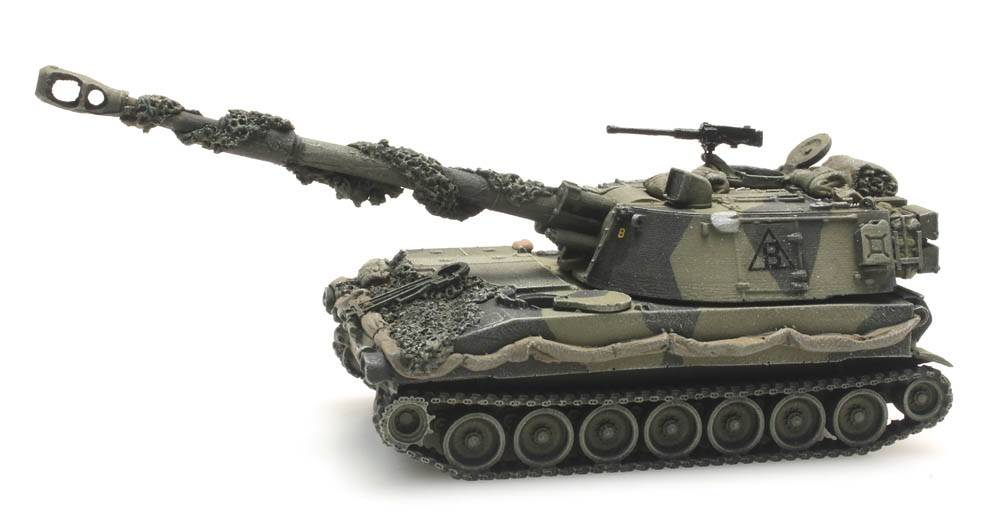 M109 A2 combat ready British Army
