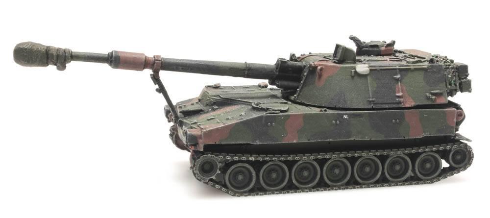 M109 A2 NAVO-camouflage treinlading, Koninklijke Landmacht