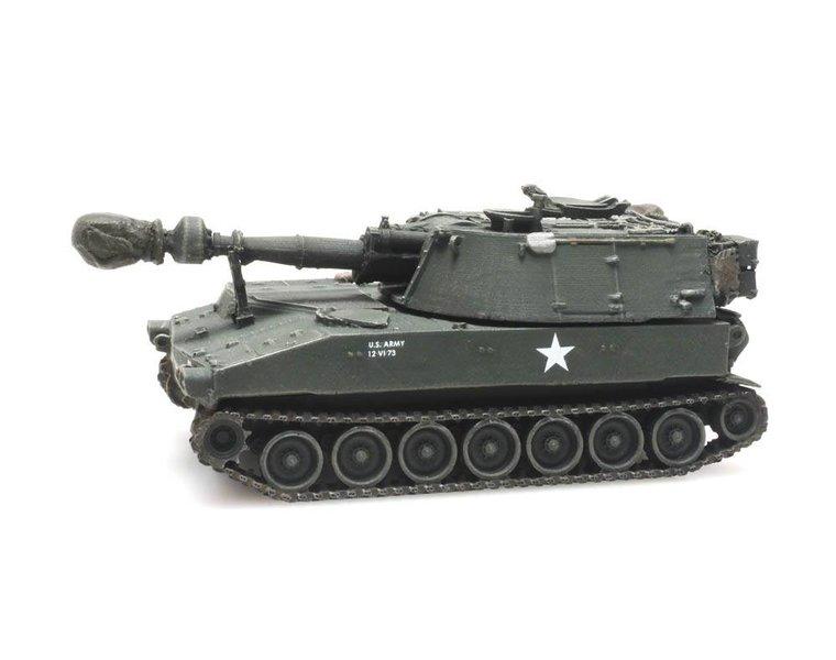 M109 A1 US Army train load