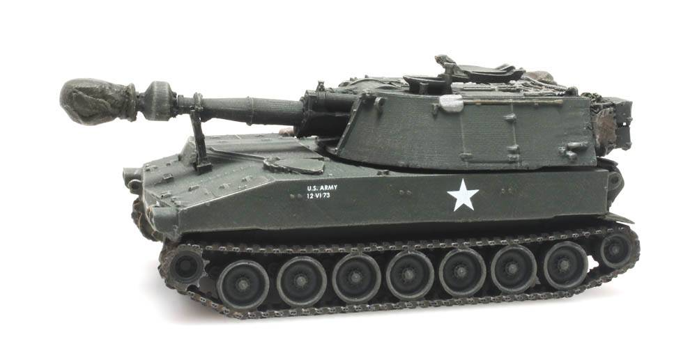 M109 US Army train load