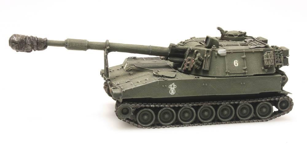 M109 A2 train load, Swiss Army