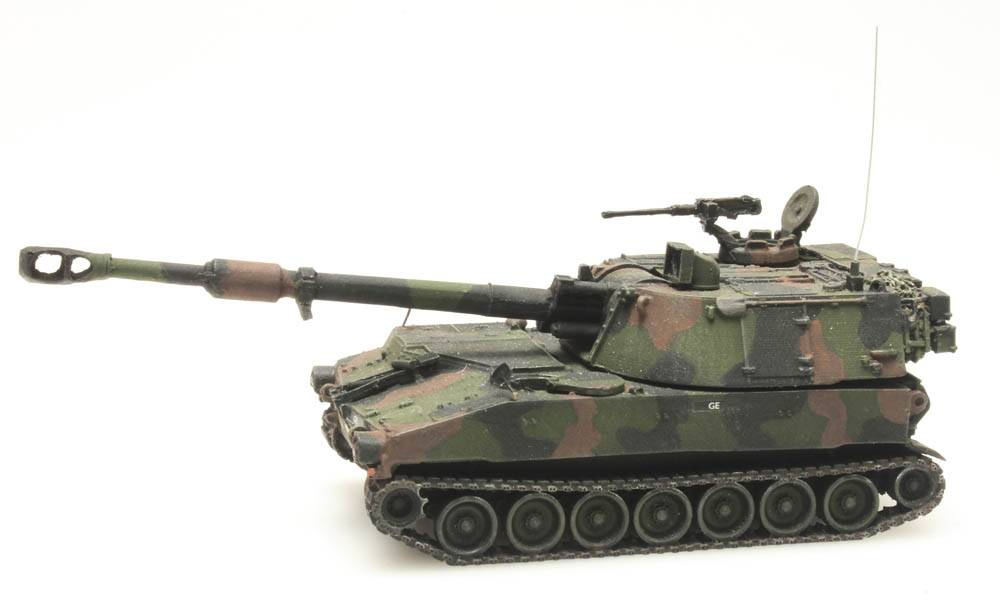 M109 A2 NATO Tarnung Koninklijke Landmacht
