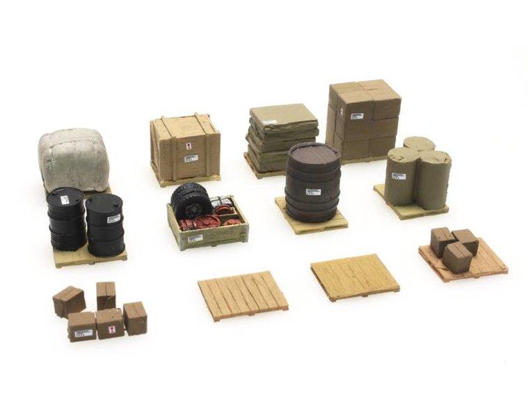 Cargo on pallets