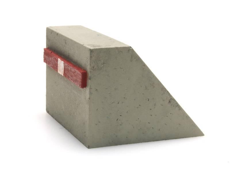 Betonnen stootblok