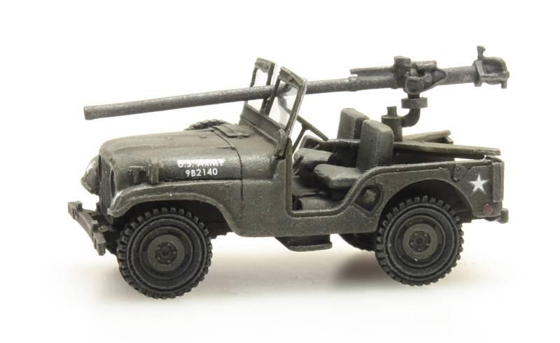 US M38 Jeep + 106mm AT Gun