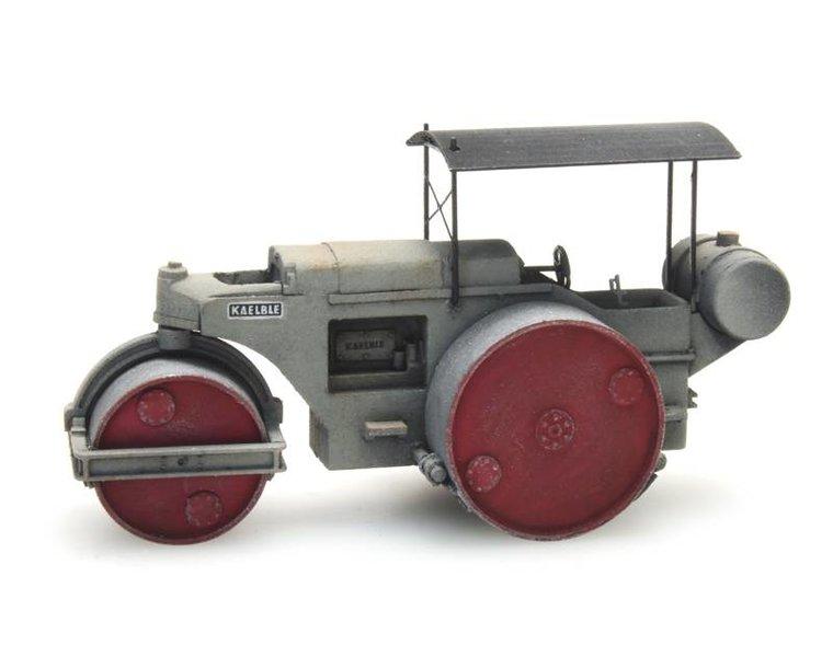 Road roller Kaelble gray