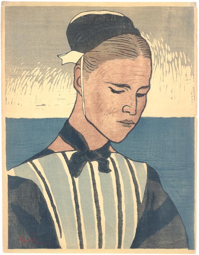 Yamamoto Kanae, Vrouw uit Bretagne