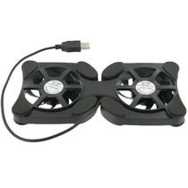 Mini Laptop Koeler Stand Zwart