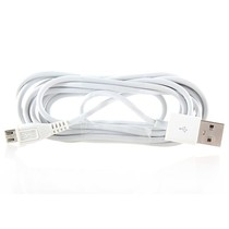 Micro USB Data Kabel Wit 1 Meter