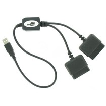 USB naar 2x Playstation 2 Converter Kabel