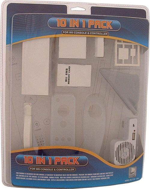 10 in 1 Accessoires Pack voor de Wii