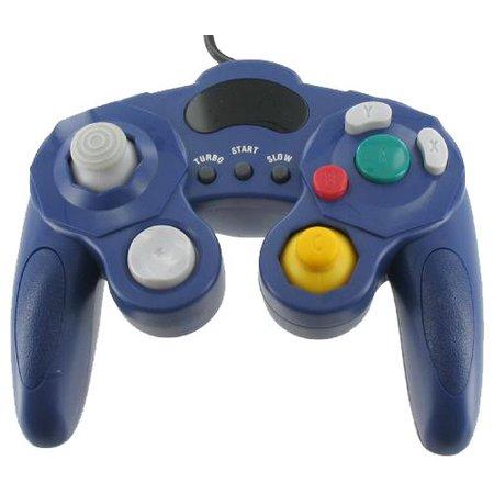 Controller Bedraad Paars voor de GameCube en Wii