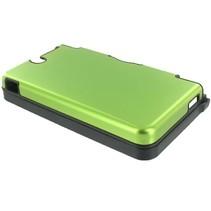 Groene aluminium beschermhoes voor de Nintendo DSi XL
