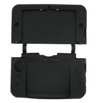 Siliconen Beschermhoes Zwart voor 3DS XL