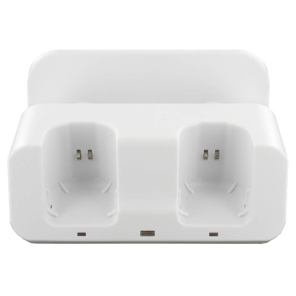 3 in 1 Oplaadstation Wit voor Wii U